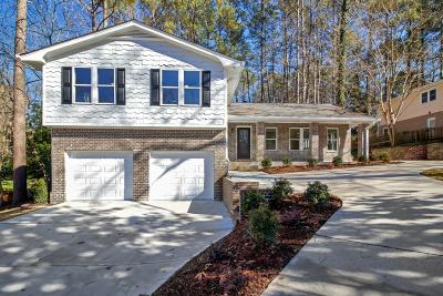 Marietta Single Family Home For Sale: 470 Ridgewater Drive