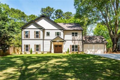 Decatur Single Family Home For Sale: 2950 Pangborn Road
