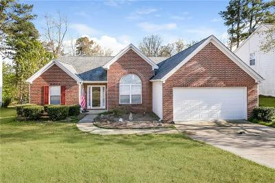 Buford Single Family Home For Sale: 3560 Hamilton Creek Trail NE
