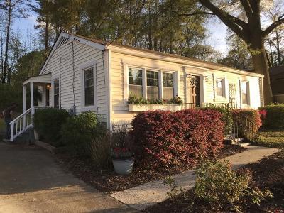 Smyrna Single Family Home For Sale: 540 Church Road