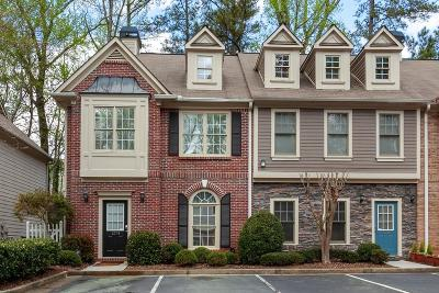 Roswell Condo/Townhouse For Sale: 1274 Harris Commons Place