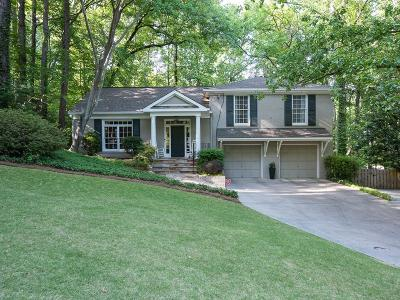 Atlanta Single Family Home For Sale: 330 Forest Valley Court
