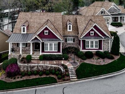 Barrow County, Forsyth County, Gwinnett County, Hall County, Newton County, Walton County Single Family Home For Sale: 3395 Harbour Point Parkway