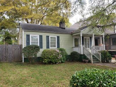 Kirkwood Single Family Home For Sale: 179 Murray Hill Avenue NE