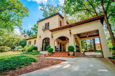 Druid Hills Single Family Home For Sale: 1181 N Decatur Road NE