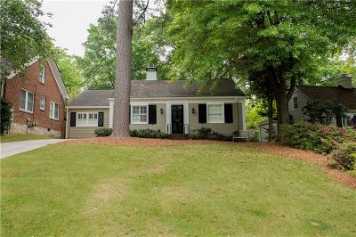Peachtree Hills Single Family Home For Sale: 2393 Hurst Drive NE