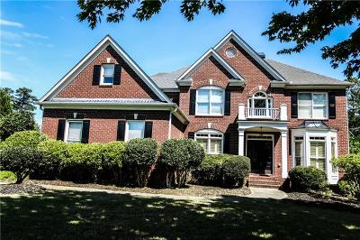 Alpharetta Single Family Home For Sale: 4050 Hamby Oaks Drive