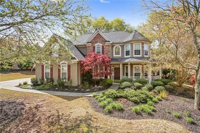 Roswell Single Family Home For Sale: 3160 Foxhall Overlook