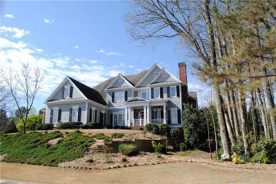 Roswell Single Family Home For Sale: 3301 Chimney Lane NE