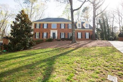 Peachtree Corners, Norcross Single Family Home For Sale: 4544 Cape Kure Court