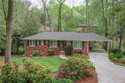 Chamblee Single Family Home For Sale: 1749 Colt Drive