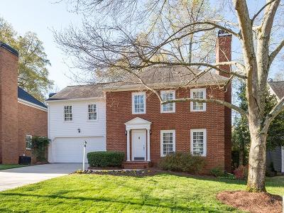 Brookhaven Single Family Home For Sale: 1133 Oakbrook Way