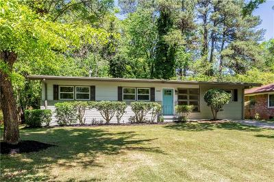Decatur Single Family Home For Sale: 3080 Santa Monica Drive
