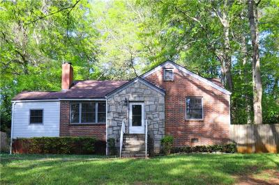 Decatur Single Family Home For Auction: 1207 Thomas Road