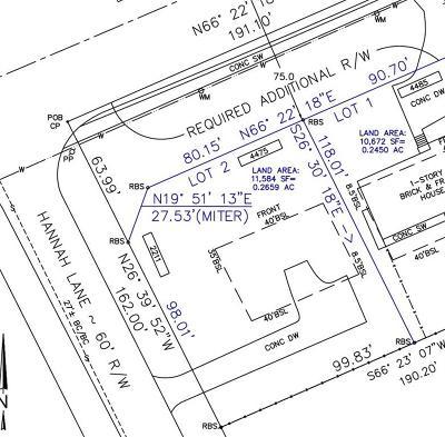 Tucker Residential Lots & Land For Sale: 2211 Hannah Lane