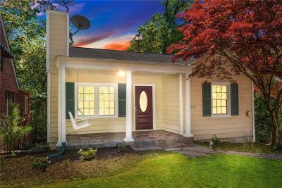 Atlanta Single Family Home For Sale: 239 Lindbergh Drive NE
