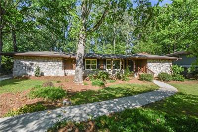 Brookhaven Single Family Home For Sale: 3439 Stratfield Drive NE