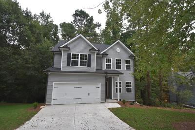 Cartersville Single Family Home For Sale: 11 NW Griffin Mill Drive NW