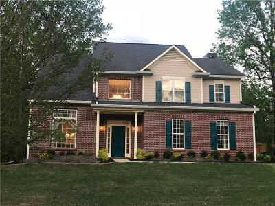 Fayetteville Single Family Home For Sale: 100 Spring Mist Drive