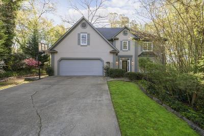 Marietta Single Family Home For Sale: 4049 Jordan Lake Drive