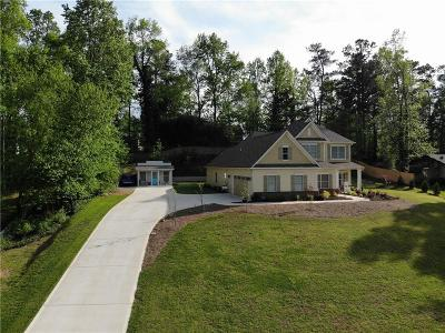 Hall County Single Family Home For Sale: 5237 Flat Creek Road