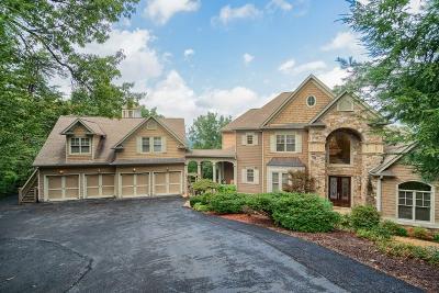 Big Canoe Single Family Home For Sale: 203 Black Bear Ridge