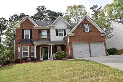 Suwanee Single Family Home For Sale: 3125 Maple Terrace Drive