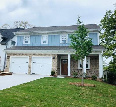 Smyrna Single Family Home For Sale: 2764 Hamby Street