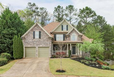 Acworth Single Family Home For Sale: 166 Misty View Lane