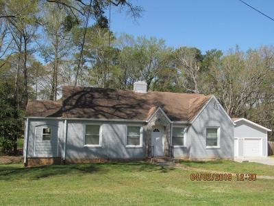 Tucker Single Family Home For Sale: 1260 Idlewood Road