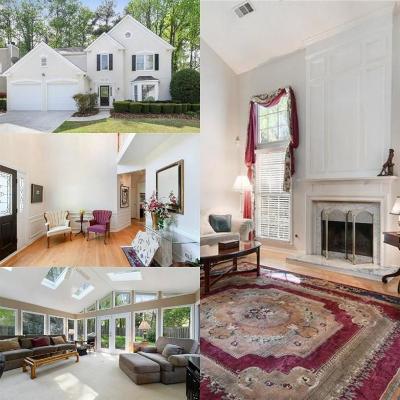Breckenridge Single Family Home For Sale: 9105 Brockham Way