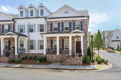 Alpharetta Condo/Townhouse For Sale: 485 Letchas Lane