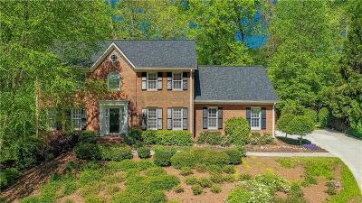 Cobb County Single Family Home For Sale: 1853 Jacksons Creek Bluff