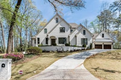 Sandy Springs Single Family Home For Sale: 6336 Vernon Woods Drive