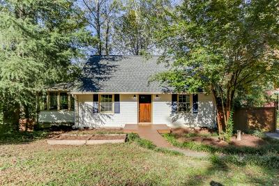 Atlanta Single Family Home For Sale: 2620 Ridgemore Road NW