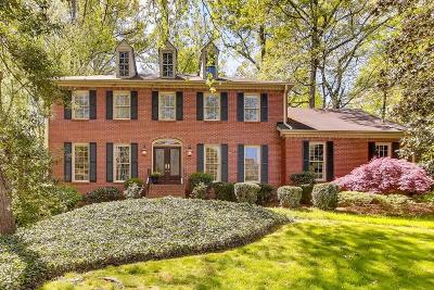 Marietta Single Family Home For Sale: 511 Park Lane SE