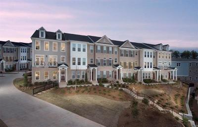 Alpharetta Condo/Townhouse For Sale: 609 Hanlon Way