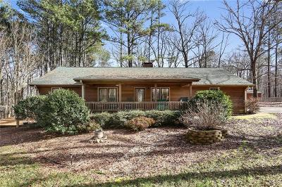 Cumming Single Family Home For Sale: 6896 Heardsville Road