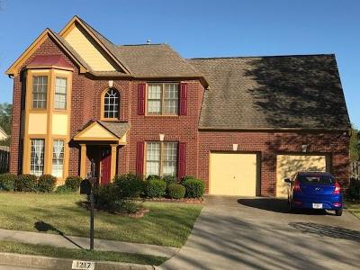 Lawrenceville Single Family Home For Sale: 1217 Rocky Branch Trail