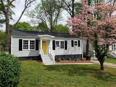 Hapeville Single Family Home For Sale: 243 Moreland Way