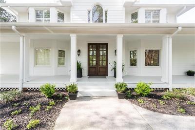 Alpharetta, Atlanta, Dunwoody, Johns Creek, Milton, Roswell, Sandy Springs Single Family Home For Sale: 15760 Hamby Road