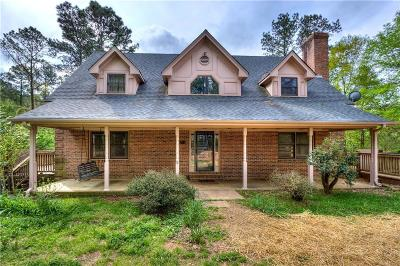 Acworth Single Family Home For Sale: 895 Rutledge Road
