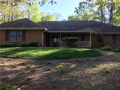 Forsyth County, Gwinnett County Single Family Home For Sale: 1624 Rocky Top Drive SW