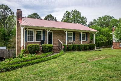 Rome Single Family Home For Sale: 393 Mountain View Road SE