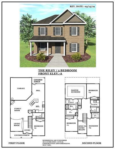 Stockbridge Single Family Home For Sale: 421 Townsend Bend
