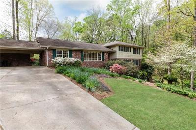 Sandy Springs Single Family Home For Sale: 5110 Marbury Circle