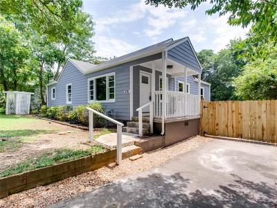 Smyrna Single Family Home For Sale: 536 Taylor Drive SE