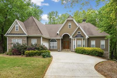 Gainesville Single Family Home For Sale: 8655 Anchor On Lanier Court