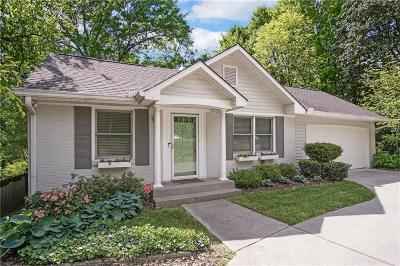 Atlanta Single Family Home For Sale: 2472 Howell Mill Road NW