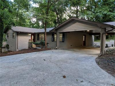 Atlanta Single Family Home For Sale: 3621 Embry Circle